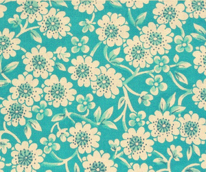 background, floral, and blue image