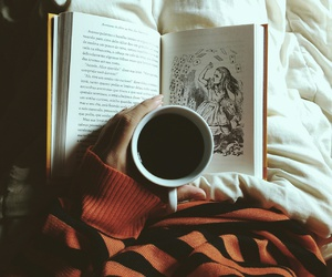 books and coffe image