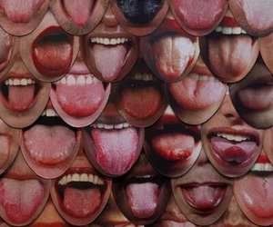 mouth, tongue, and lips image