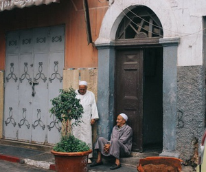 muslim and old image