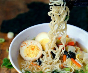 food, noodles, and japan image