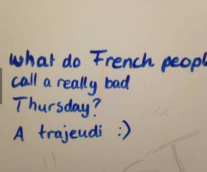 lol, french, and funny image
