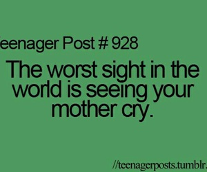 mother, quote, and teenager post image