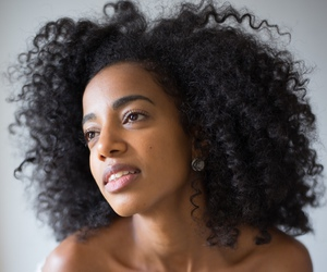 big hair, natural hair, and texture image