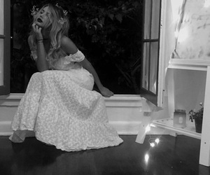 black and white, california, and candles image