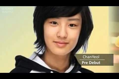 exo, park chanyeol, and pre debut image