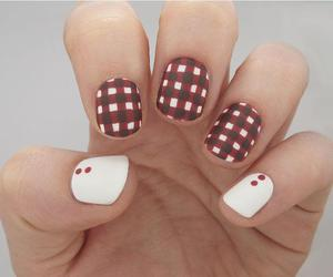 beauty, fall, and gingham image