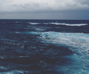 blue, nature, and ocean image
