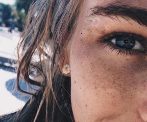 girl, eyes, and fashion image