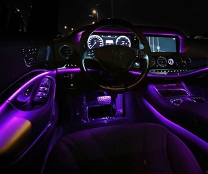 car, purple, and luxury image