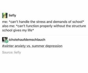 anxiety, feels, and deppression image
