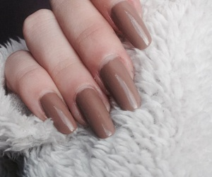 brown, fingers, and long image