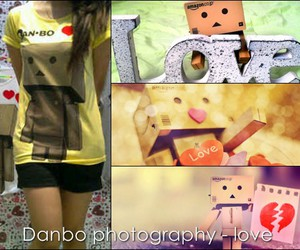 <3, danbo, and cute image