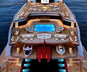 luxury, yacht, and goals image