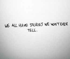 story, quote, and secret image