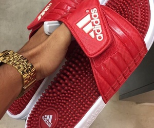 red, theme, and adidas image
