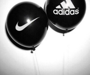 balloon, black, and brand image