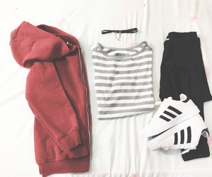 adidas, black, and casual image