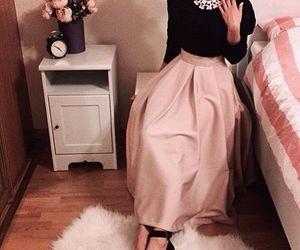 hijab, skirt, and hijab fashion image