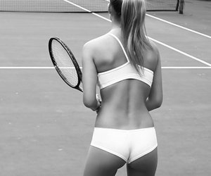 tennis, sport, and sexy image