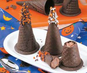 chocolate, Halloween, and mousse image