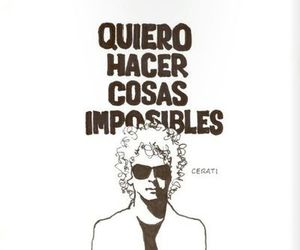 cerati, imposible, and music image