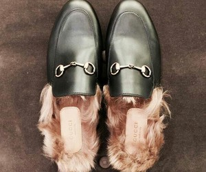 fur, luxury, and gucci image