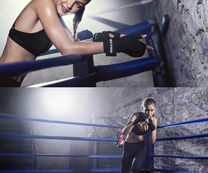 boxing, sport, and boxing gloves image
