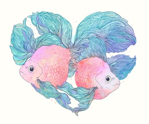 fish and love image