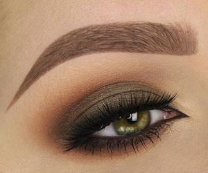 eyes, green, and make up image
