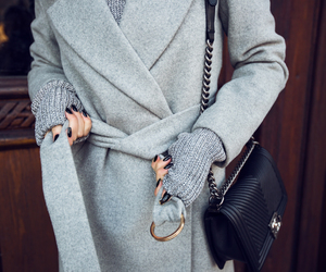 fashion, chanel, and grey image