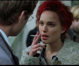 natalie portman, cigarette, and closer image