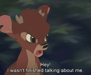 bambi, disney, and me image