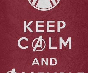 Avengers, assemble, and keep calm image