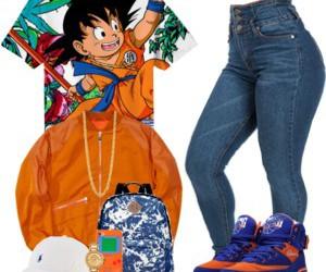 anime, ootd, and fashion image