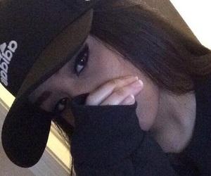 girl, adidas, and black image