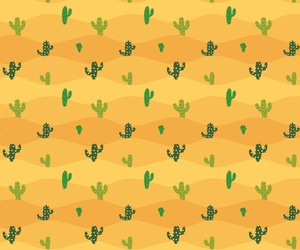 background, cactus, and pattern image