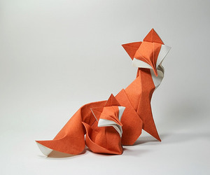 animals, origami, and art image