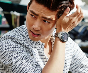 taecyeon, 2PM, and Elle image