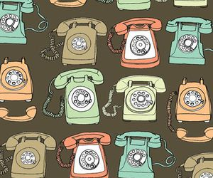telephone and pattern image