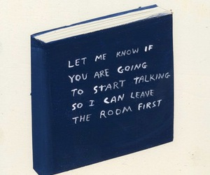book, quotes, and blue image