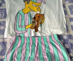 simpsons, pijama, and the simpsons image