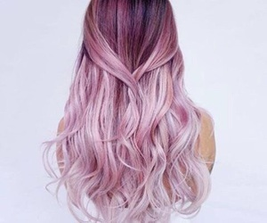 collections, hair, and pink image
