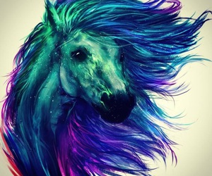 horse and art image