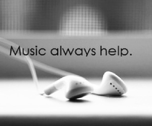 music, help, and quote image