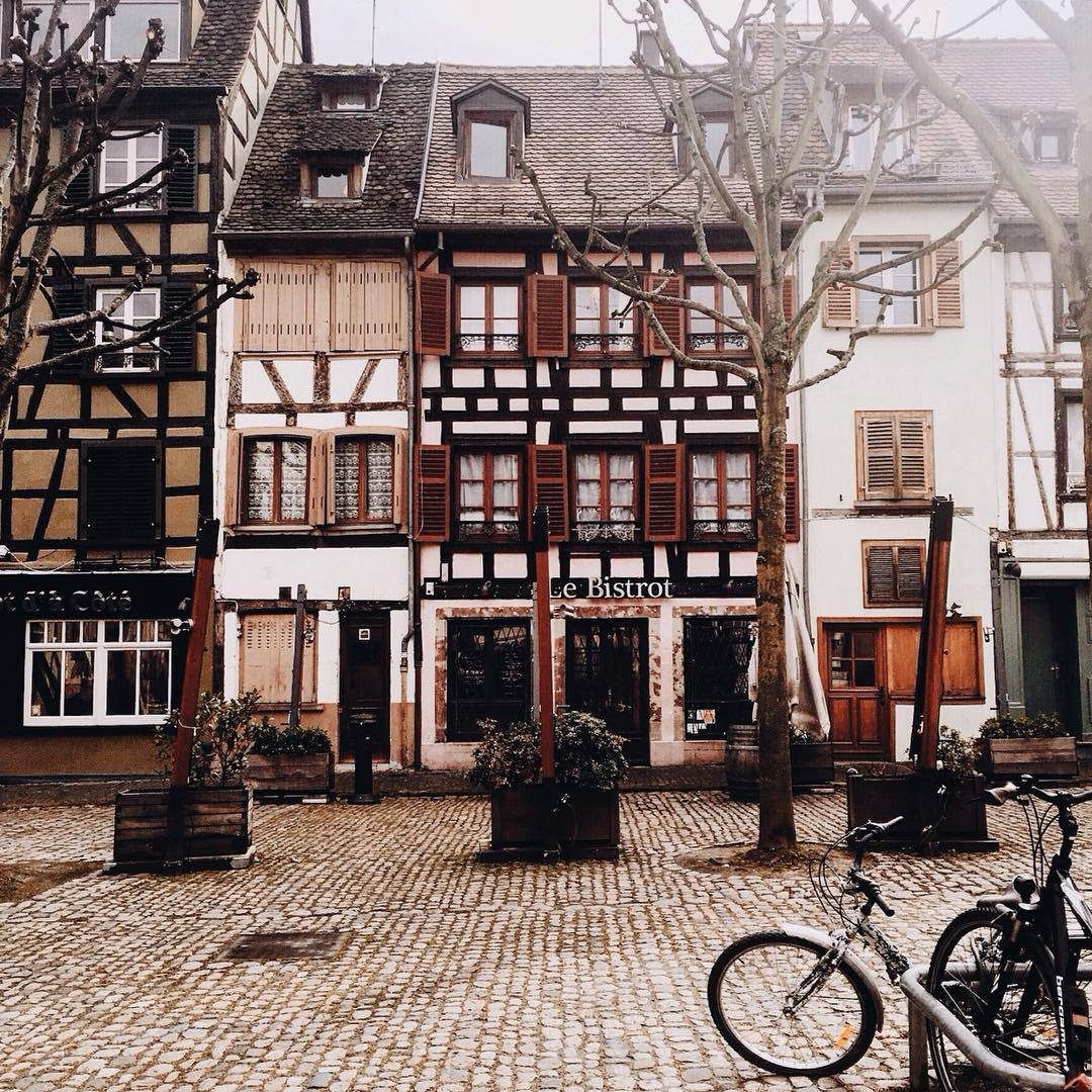 old houses, france, and travel image