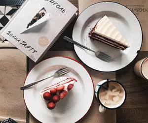 cake and coffee image