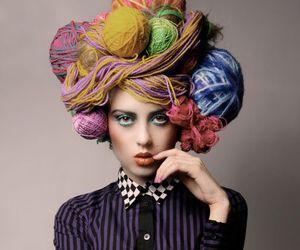 art, crocheting, and knitting image