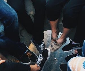 circle, feet, and shoes image
