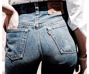 fashion, jeans, and woman image